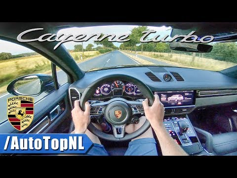 2019 PORSCHE CAYENNE TURBO | POV Test Drive POWERSLIDES by AutoTopNL