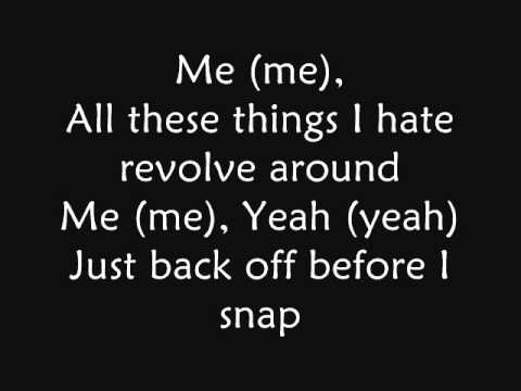 Bullet For My Valentine - All These Things I Hate (lyrics)