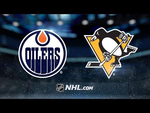 Kessel's OT winner propels Penguins past Oilers, 2-1
