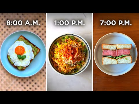 What A Professional Chef Eats In A Day • Tasty