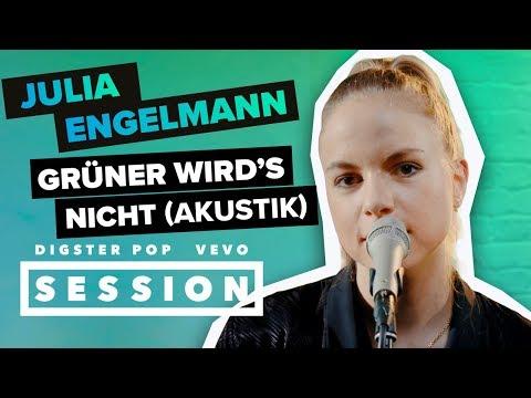 Julia Engelmann - Grüner wird's nicht (Akustik Version) [Digster Pop x Vevo Session]