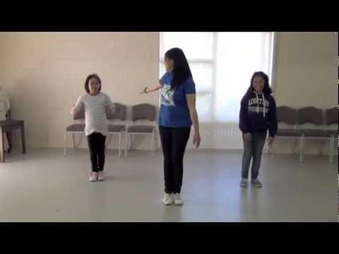 FAWI Xmas Dance 2012 Verse 2 Tutorial