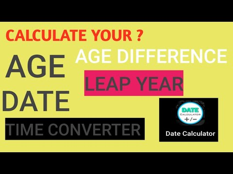 Calculate total length of service & age for all the employees in.