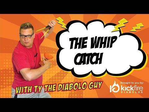 The Whip Catch - Diabolo Tricks for Intermediate | KickFire Diabolos | Chinese YoYo Tricks