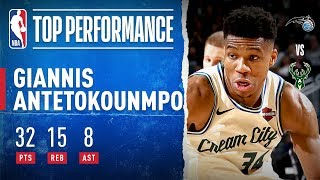Giannis Gets MONSTER Double-Double! Leads Bucks To 15 Straight W's!