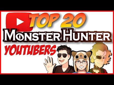 Top 20 Monster Hunter Youtubers thumbnail