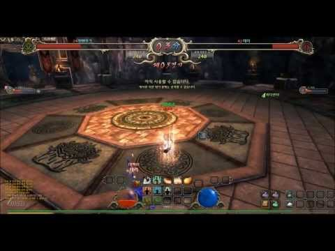 Yulgang 2 PVP Healer VS Warrior