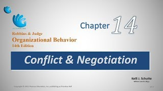 Conflict and Negotiation | Organizational Behavior (Chapter 14)