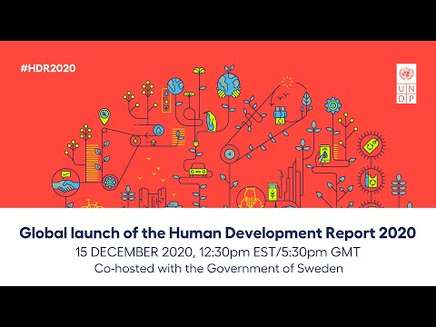 Global Launch of the Human Development Report 2020