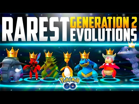 Pokemon Go - Evolving the RAREST Pokemon in Generation 2! (Pokemon Go RARE Evolutions!)