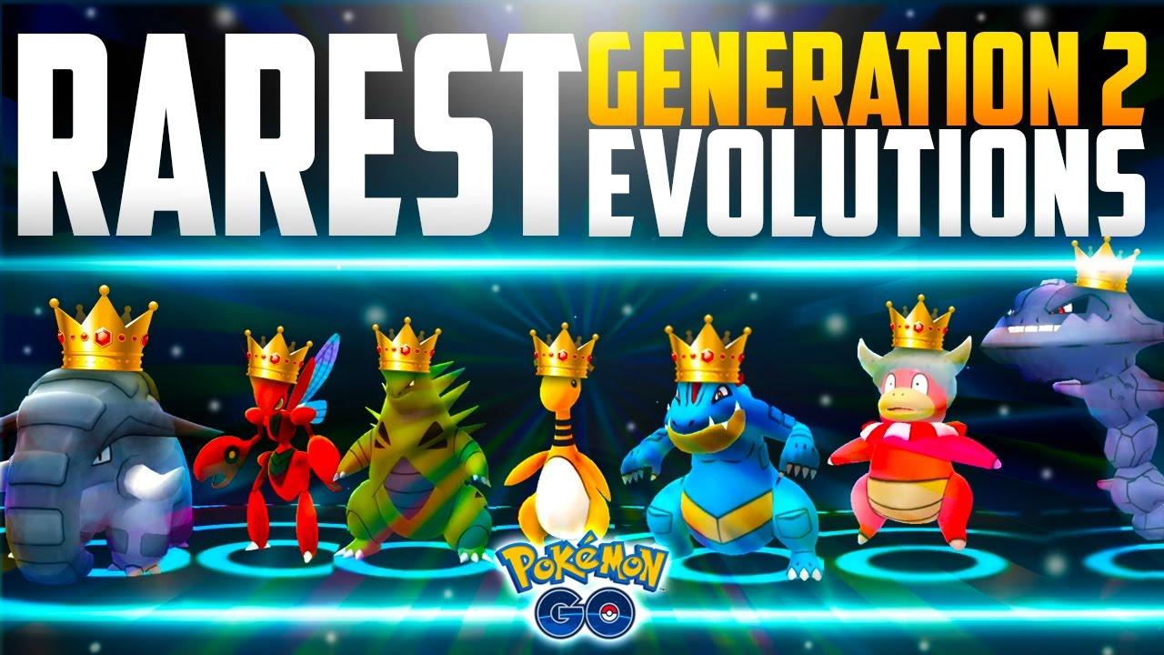pokemon go gen 2 rarest