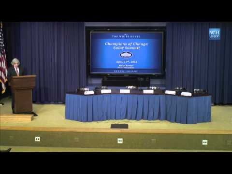 White House Solar Summit and Champions of Change