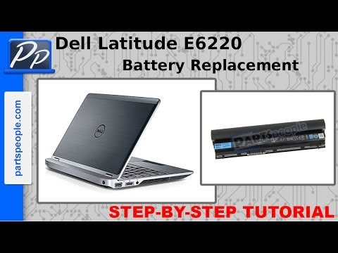 Dell latitude e6220 battery not charging