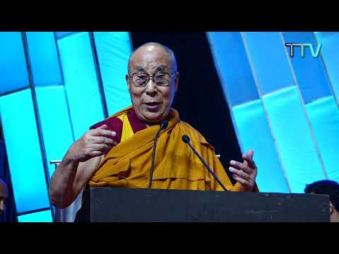 "His Holiness the Dalai Lama's talk on ""World Peace & Harmony t..."