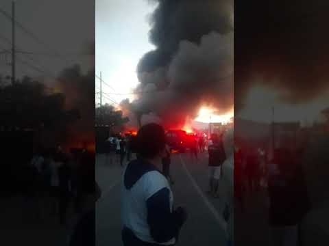 Kebakaran Di Jalan Baru Abepura Kota Jayapura Papua