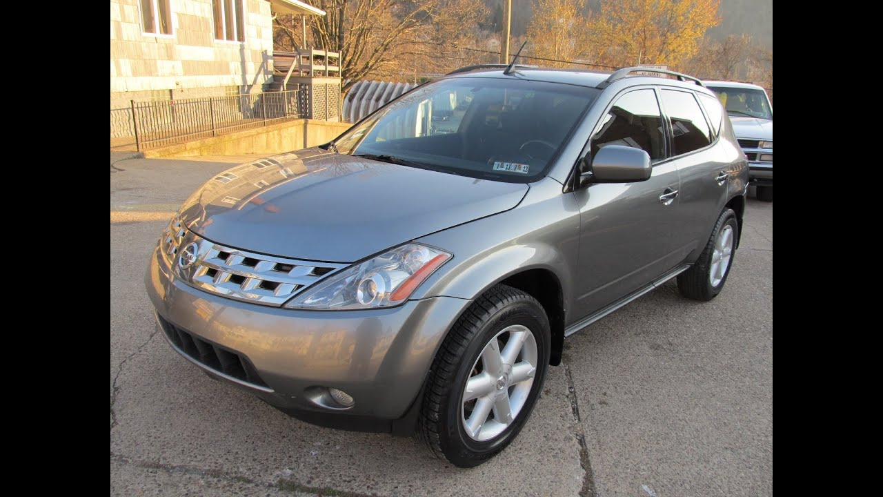2005 Nissan Murano Se Awd Elite Auto Outlet Bridgeport Ohio