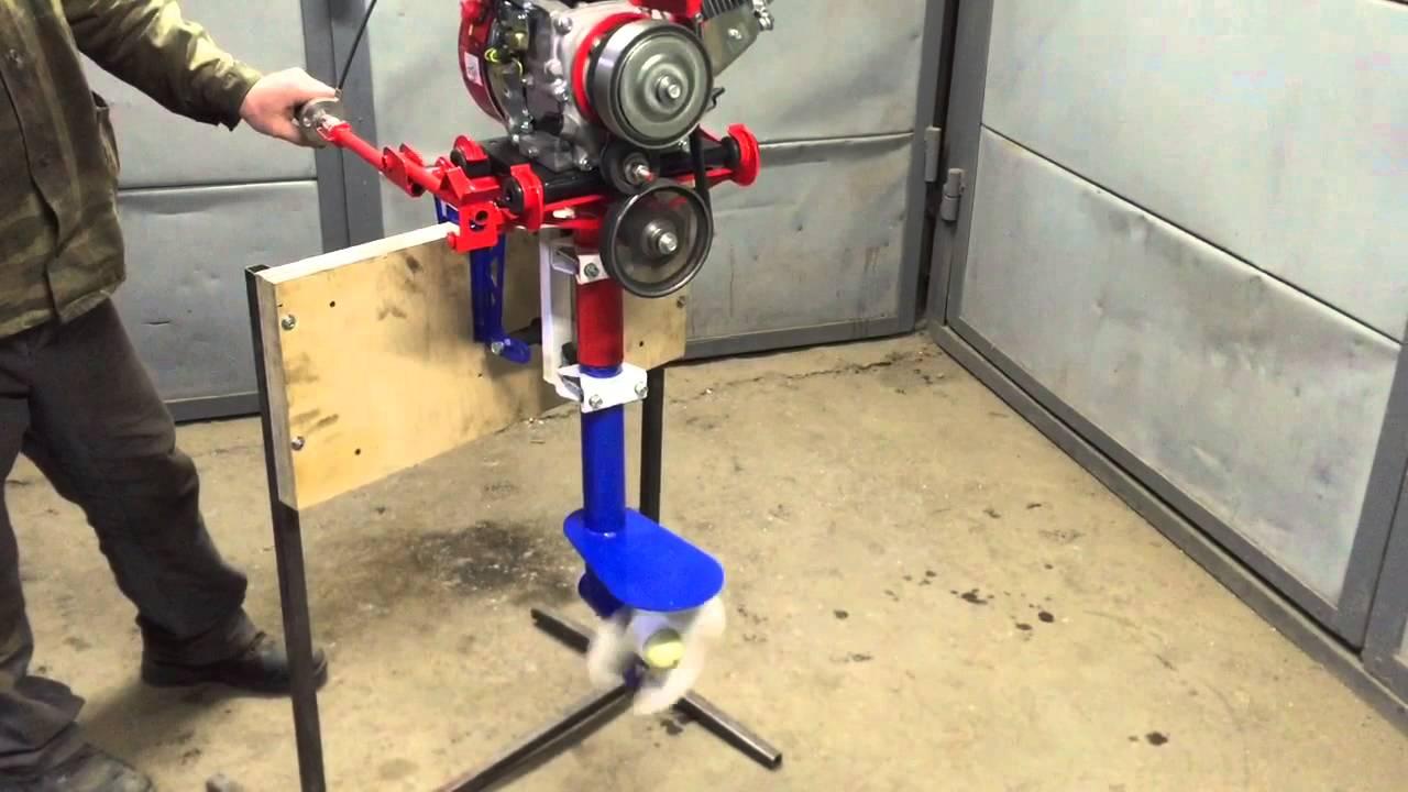 Лодочный мотор своими руками 4 тактные