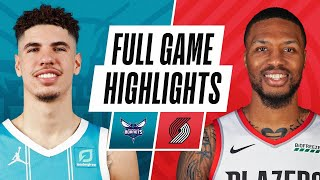 Download HORNETS at TRAIL BLAZERS | FULL GAME HIGHLIGHTS | March 1, 2021