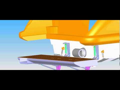 Dinghy Lifts & Tender Lifts - AZIMUT 70 LIFT