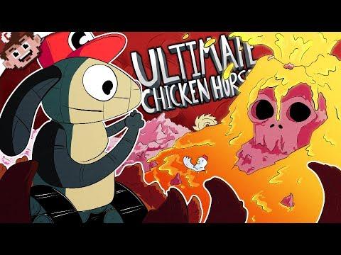 Return of Robot Rabbit! | Satan's Volcano Summit! (Ultimate Chicken Horse )