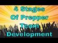 4 Stages of Prepper Team Development