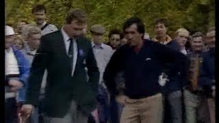 Seve Ballesteros v Ian Woosnam. World Matchplay.Semi Final 1987.