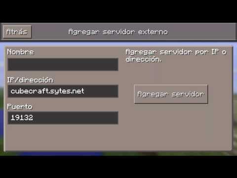 Cube Craft Server Minecraft Pe
