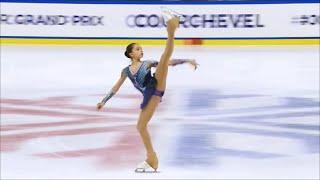 Камила Валиева выиграла этап гран-при во Франции! Произвольная программа. Девушки.
