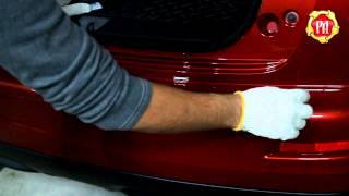 видео Инструкция по установке накладки на задний бампер