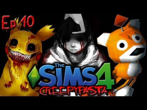 Adding Gaming Creepypastas | The Sims 4: Creepypasta Reboot - Ep. 10 |
