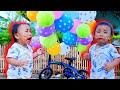 Drama Penjual Balon 💞 Berhadiah Mainan Anak Perempuan 💞 Bayi Lucu Rafisqy Nangis Kejer Minta Balon 💞