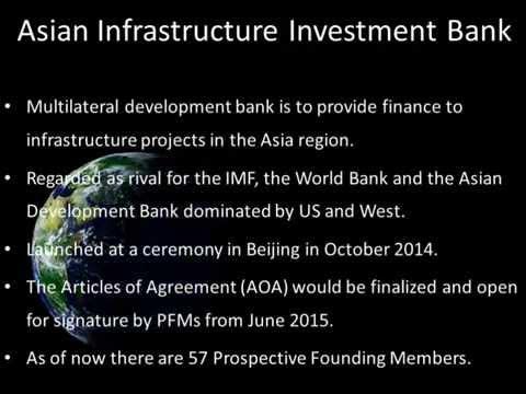AIIB and NDB