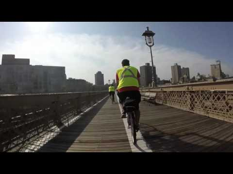 Bike Ride to Brooklyn Bridge and back over Manhattan Bridge to 9 11 Memorial
