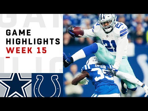 Смотреть Cowboys vs. Colts Week 15 Highlights | NFL 2018 онлайн
