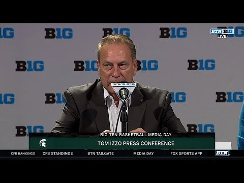 Tom Izzo | Michigan State | 2018 Big Ten Basketball Media Day