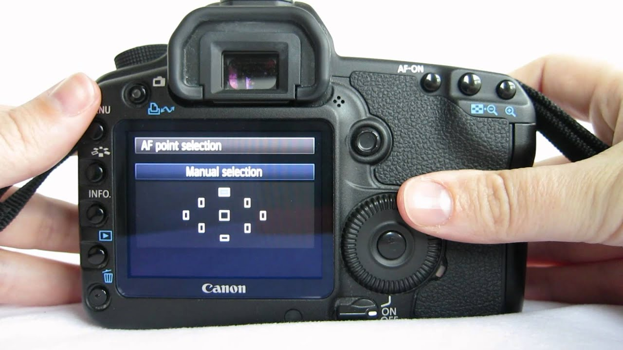 changing your focal point on a canon 5d mark ii camera youtube rh youtube com canon 5d mk2 manual pdf download canon 5d mark ii manual español