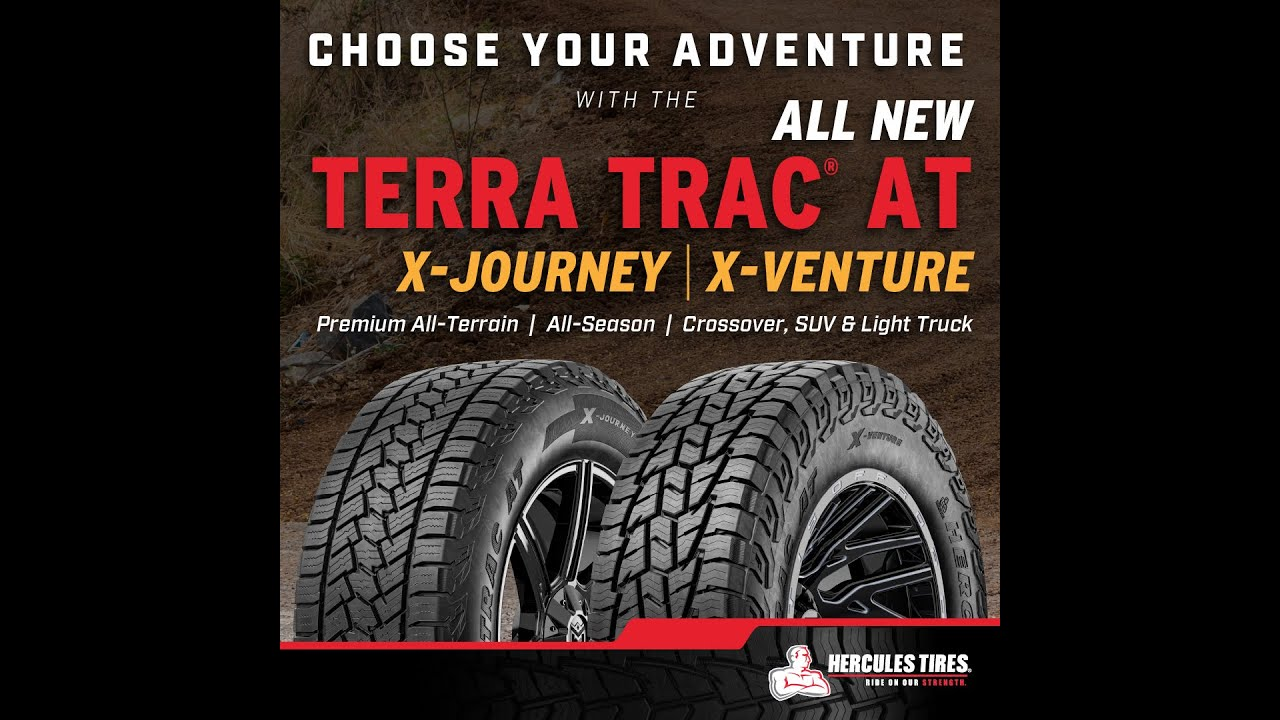 Terra Trac AT X-Journey and X-Venture