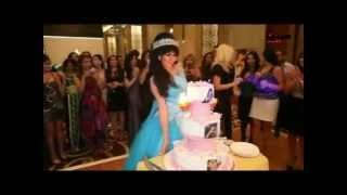 مريم حسين تحتفل مرتين بعيد ميلادها