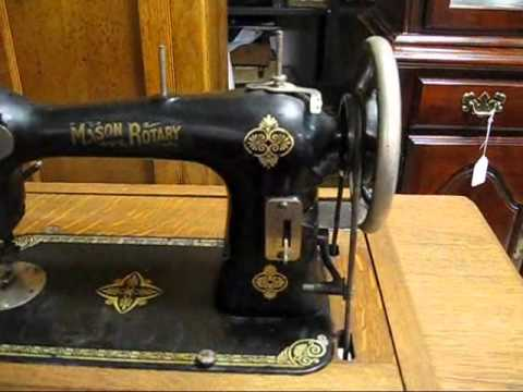 WILLIAMSBURG AUCTION AND USED FURNITURE ANTIQUE SEWING MACHINE