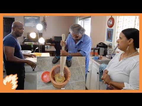Dad Shows Us How to Make Garifuna Hudut | MUKBANG | Belizean Culture