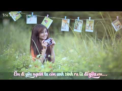 Sinh Ra Là Để Yêu Em - Vương Anh Tú [ Video LyricKara ]
