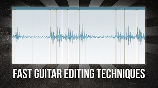 How to Edit Guitars Quickly (Cubase)