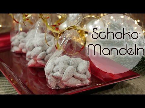 Schokomandeln wie vom Weihnachtsmarkt | Schnee-Mandeln | Geschenkidee aus der Küche