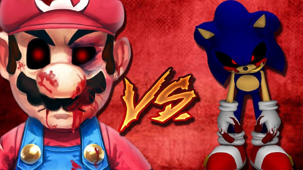 Sonic exe vs mario exe death battle | teasomeseattle com's