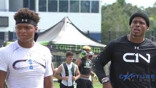 Justin Fields 7 on 7 Highlights