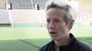 Interview: Megan Rapinoe Talks About Returning To Seattle After World Cup Training