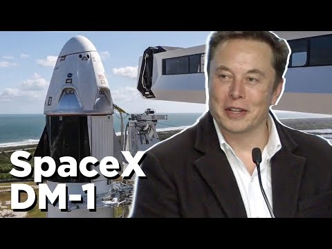 SpaceX DM-1 Press Conference in 8 Minutes | Crew Dragon Launch