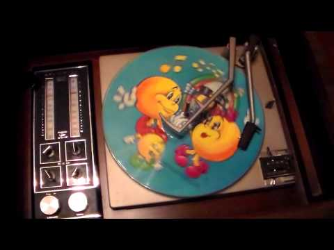 The Pac-Man Album - Kid Stuff Records - Picture Disc - Side One