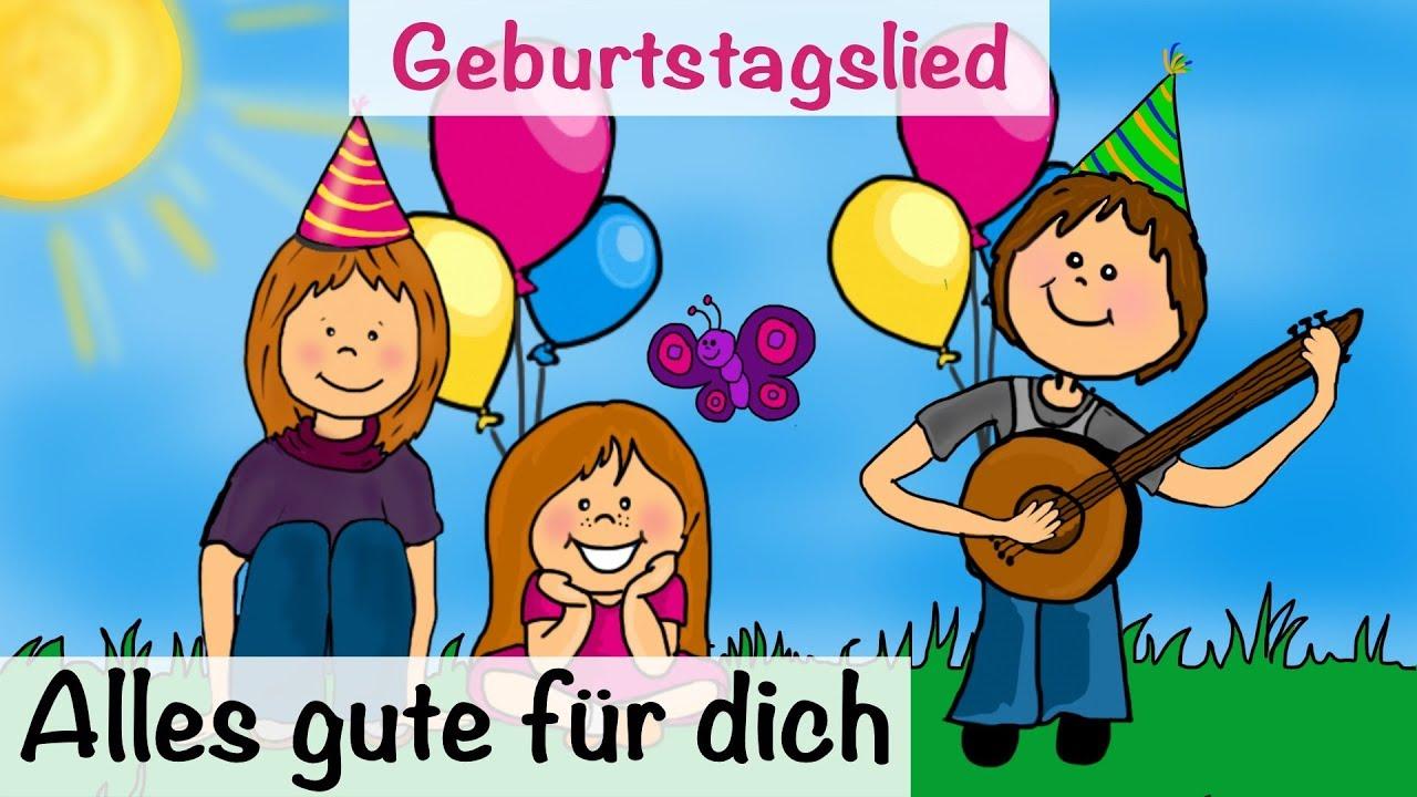 Alles Gute Zum Geburtstag Lied Text Zum Geburtstag Wunsche