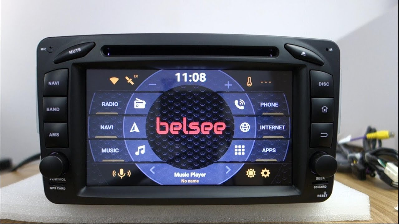 Belsee Aftermarket Navigation System Android 8 0 Auto Head Unit Stereo Car  Radio Upgrade for Mercedes-Benz W163 W209 W203 W170 W210 W168 W463 Vito